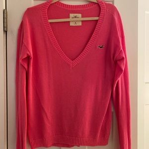 HOT pink Hollister Sweater!